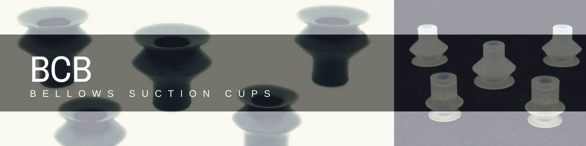 Bellows Suction Cups - BCB Series | Rubber Shop