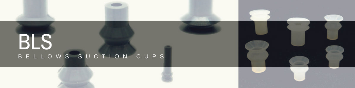 Bellows Suction Cups - BLS Series | Rubber Shop
