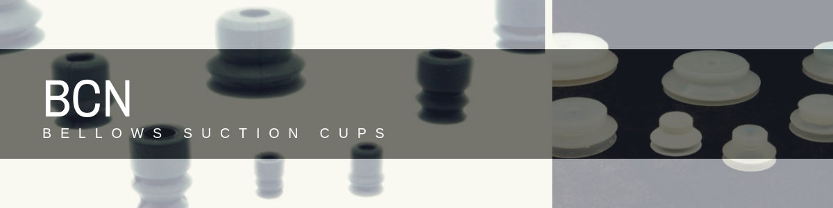 Bellows Suction Cups - BCN Series