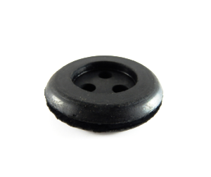 3 Hole Grommet - 24mm x 10mmh-Cable Grommets-3 Hole Grommet | Rubber Shop