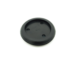 3 Hole Grommet - 49mm x 12mmh-Cable Grommets-3 Hole Grommet | Rubber Shop