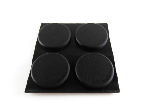 Adhesive Rubber Pad - 21.6mm x 4mmH-Rubber Bumpers-Adhesive Rubber Pad | Rubber Shop