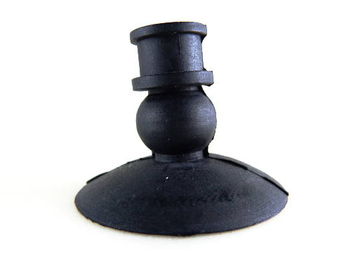 Bellows Suction Cup BLK - 34A-Vacuum Cups-BLK Series | Rubber Shop