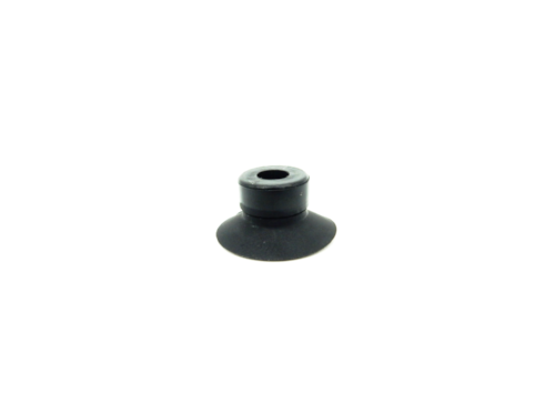 Flat Suction Cup ACF - 15C-Vacuum Cups-ACF Series | Rubber Shop
