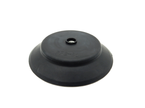 Flat Suction Cup ACF - 95A-Vacuum Cups-ACF Series | Rubber Shop