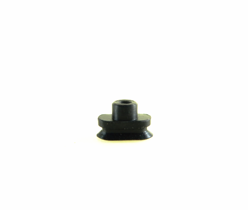 Flat Suction Cup AEY - X3.5 x 7R-Vacuum Cups-AEY Series | Rubber Shop