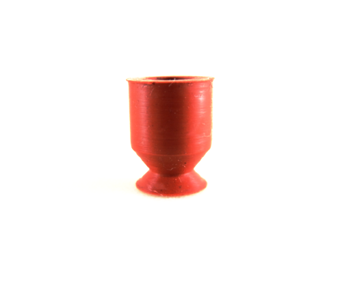 Flat Suction Cup ALG - 8A-Vacuum Cups-ALG Series | Rubber Shop