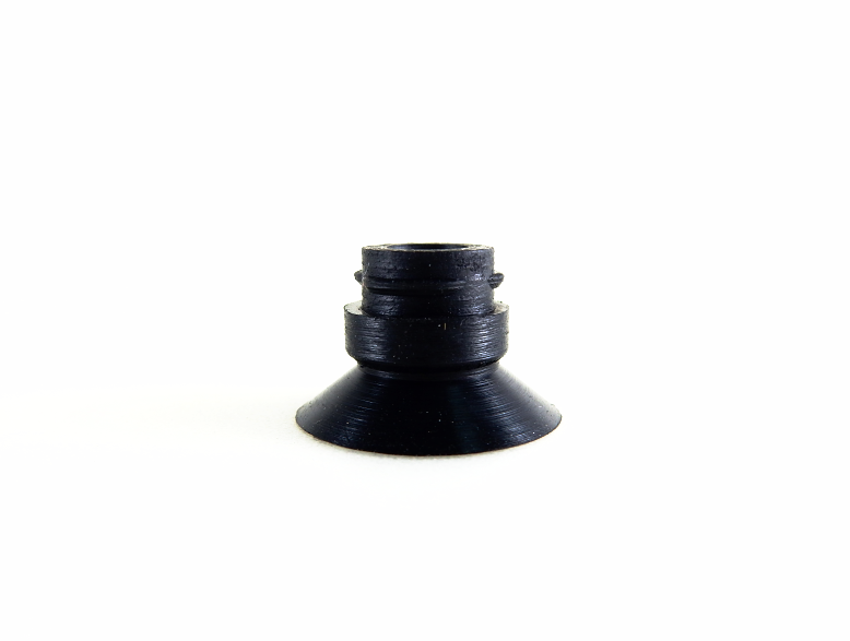 Flat Suction Cup ASC - 16A-Vacuum Cups-ASC Series | Rubber Shop