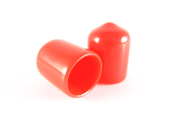 PVC Cap - 12mm x 16mmH-Rubber Caps-PVC Cap | Rubber Shop