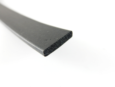 Rectangle - EPDM Foam Rubber Cord - 3.18mm x 15.88mmH-Rectangle Rubber Cord-Rectangle - EPDM Foam Rubber Cord | Rubber Shop