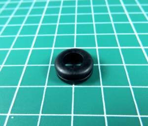 Ring Grommet - 8mm x 5.5mmh-Cable Grommets-Ring Grommet | Rubber Shop