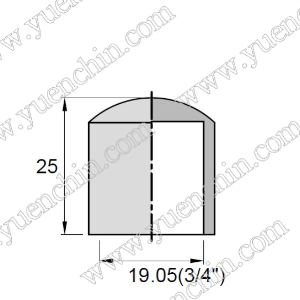 Round Cap - 19.05mm x 25mmH-Rubber Caps-Round Shaped Cap | Rubber Shop
