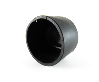 Round Cap - 31.75mm x 31mmH-Rubber Caps-Round Shaped Cap | Rubber Shop