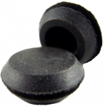 "Rubber Stopper 1/2""-Rubber Caps-Rubber Stopper 