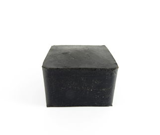 Square Cap - 31.75mm x 23mmH-Rubber Caps-Square Shaped Cap | Rubber Shop