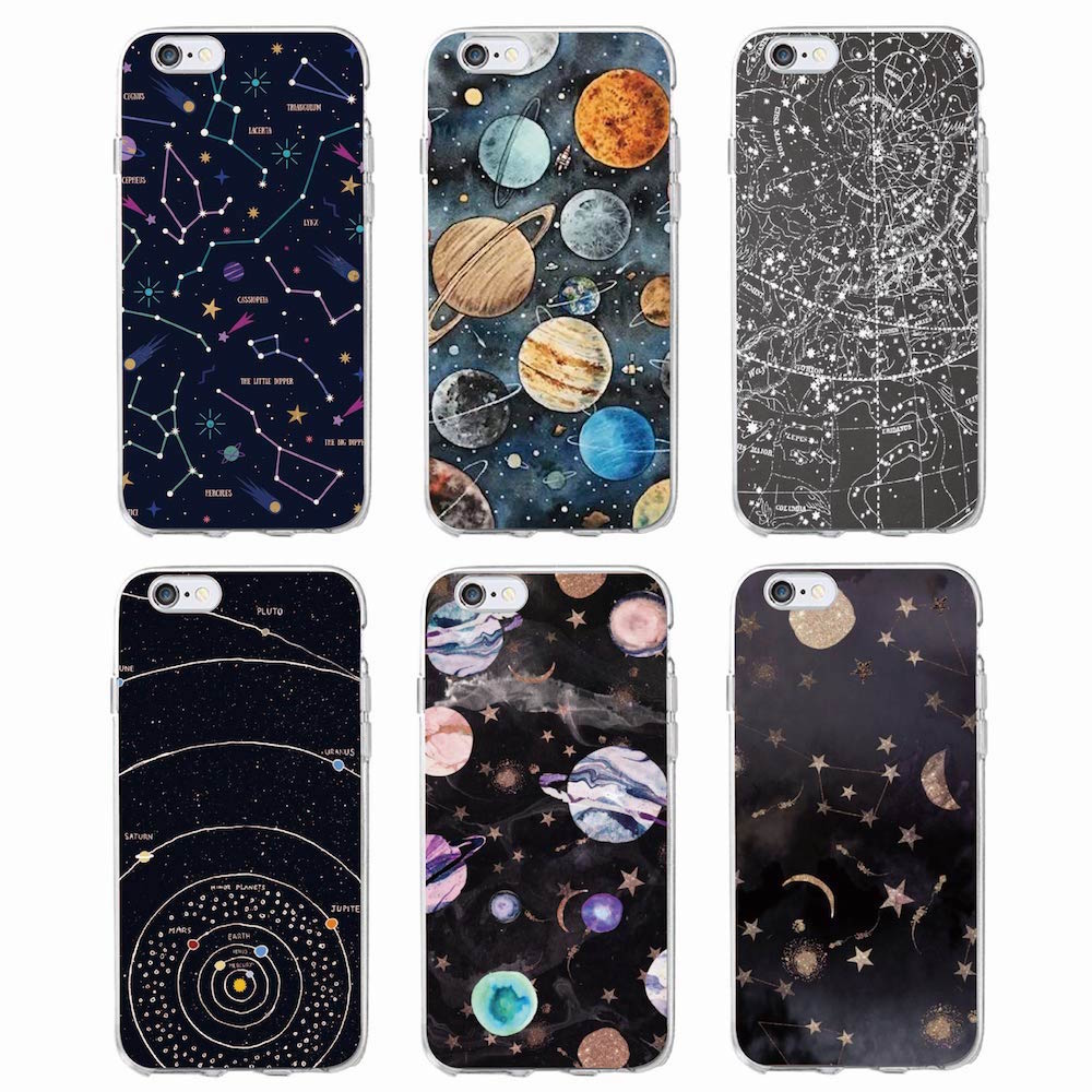 Outer Space Collection | Soft Clear Phone Case For Iphone/samsung
