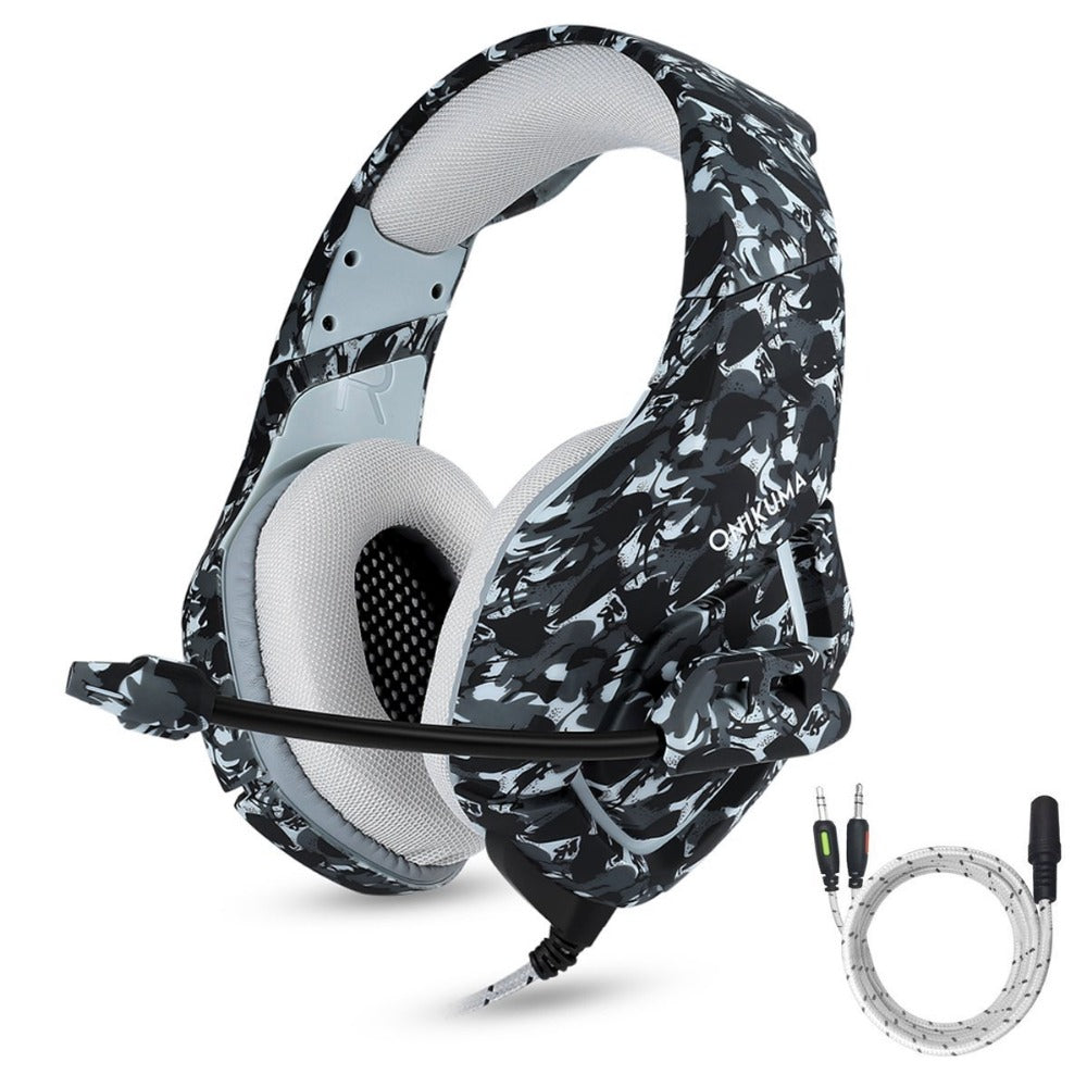 Camouflage HD Gaming Headset