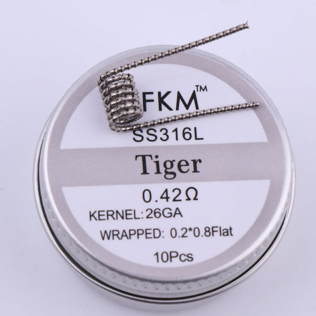 Premade Wrap Wires | Tiger