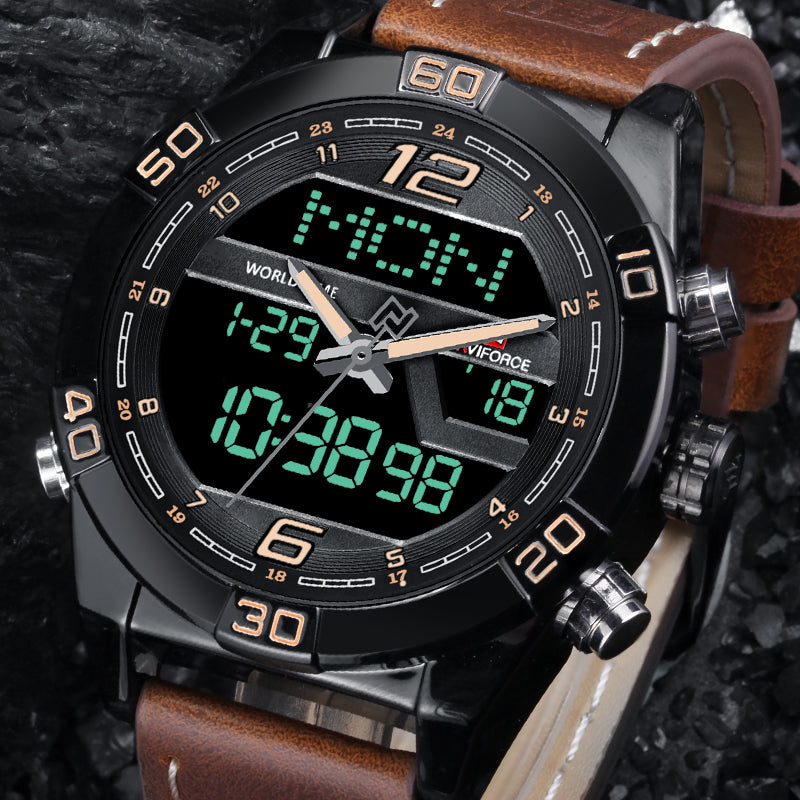 NAVIFORCE Luxury Watches | Army Military style