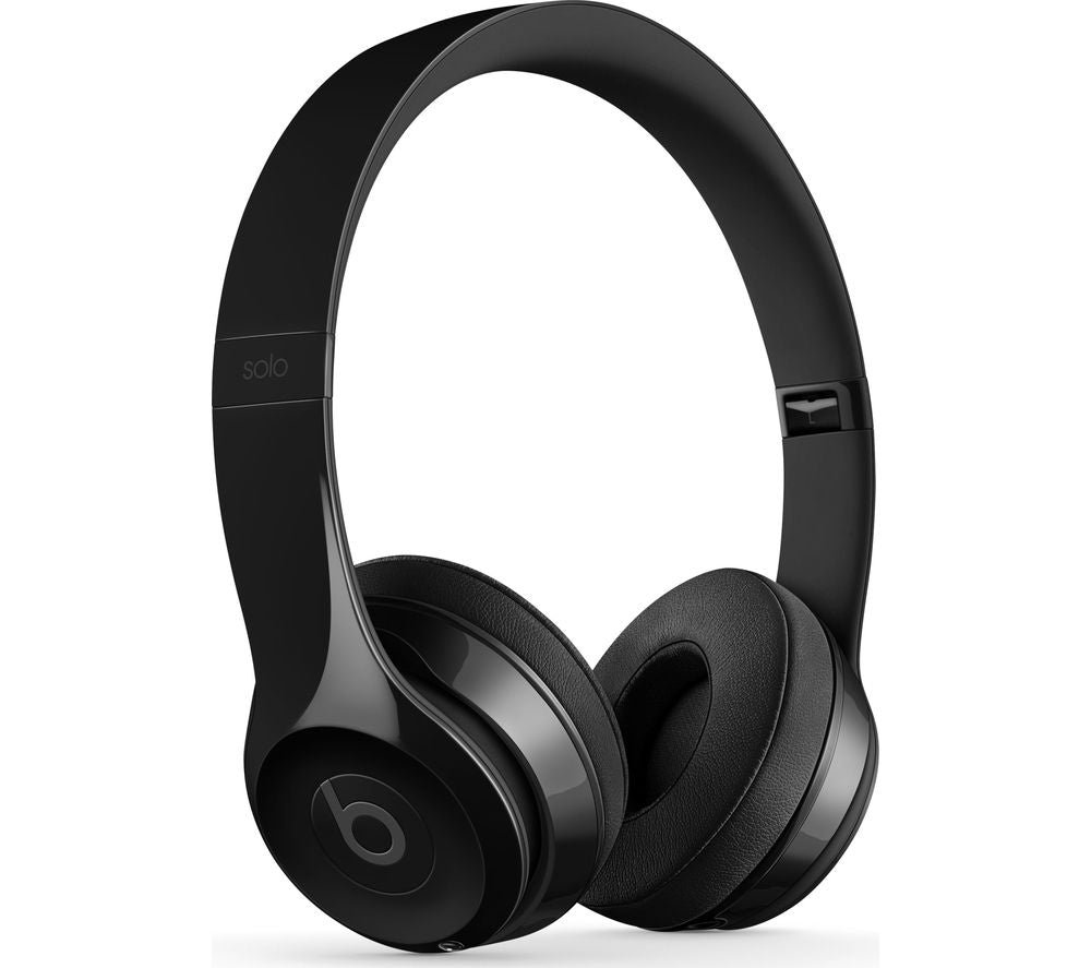 Beats Solo3 Wireless | Anti Noise Multifunction Control With Global Warranty - Shiny Black