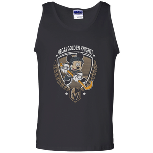 6590ee32b9b Awesome Mickey Mouse team Vegas Golden Knights hockey shirt Cotton Tank Top