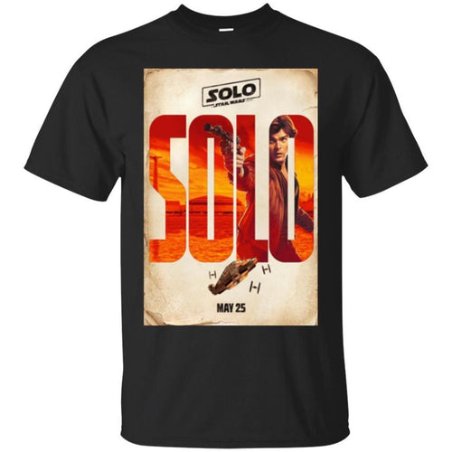 6c361b24 Amazing Buy Star Wars Han Solo Movie Release Date Poster Premium T-Shirt