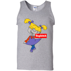 9b34ab18b Trending tees Supbitch - Angelica Shirt G220 Tank Top