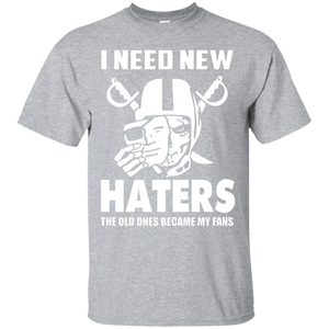 7176f6498 Amazing I Need New Haters T Shirt My Fans Tee 1