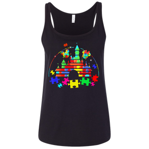 8c571b088 Fantastic Autism   Walt Disney t shirt Ladies' Relaxed