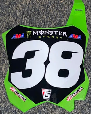 Tangent Pro Replica Number Plate Connor Fields