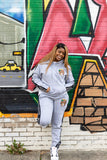 Women Grey Sweatsuits