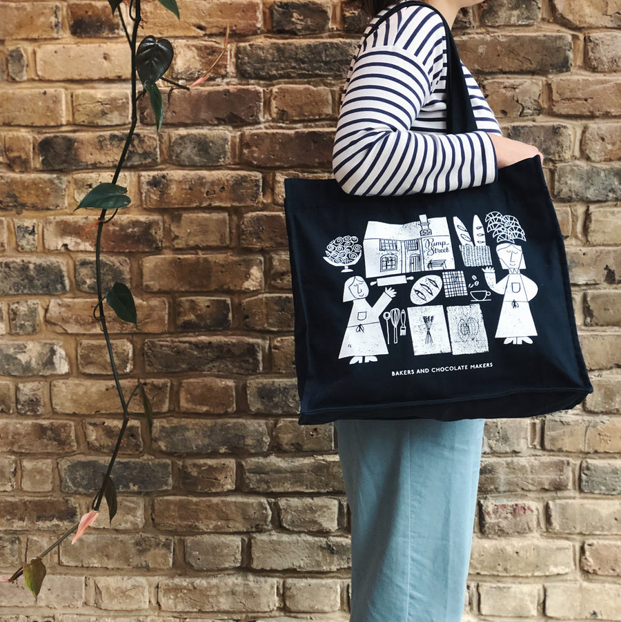 Pump Street Canvas Tote Bag