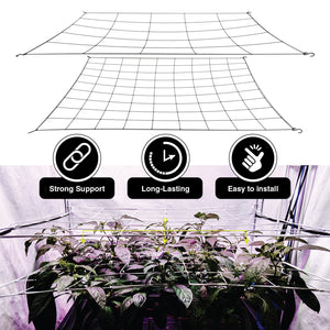 "Scrog Net for Grow Tents 2 pack (4"" and 6"" mesh nets.)"