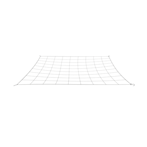 "Image of Single 4"" flexible trellis net for grow tents"