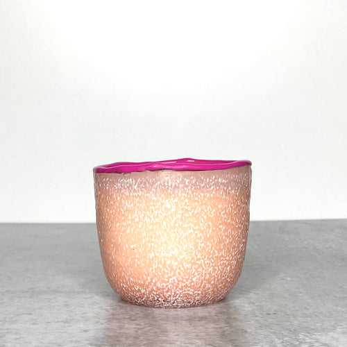 Pink Tea Rose & Peony Candle - Medium