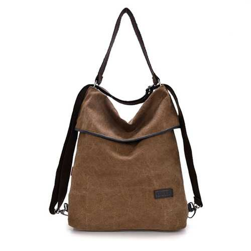 Women Canvas Handbags Girls Casual Shoulder Bags Backpacks Crossbody Bags