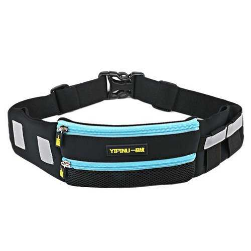 Women Men Sports Waist Bags Cycling Jogging Running Belt Outdoor Hiking Crossbody Bags