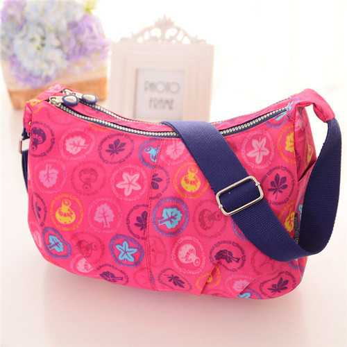 Women Casual Messenger Bags Nylon Light Shoulder Bags
