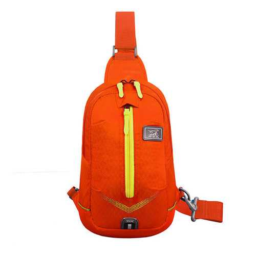 Light Weight Waterproof Chest Bags Men Women Outdooors Travel Luminous Shoulder Bag Running Hiking Bags
