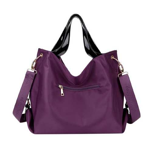 Women Nylon Waterproof Tote Bags Casual Shoulder Bags Classic Capacity Shopping Bags