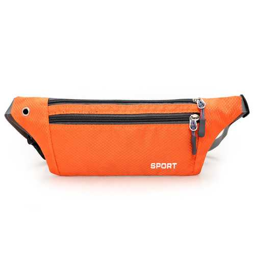Running Waist Bags Outdooors Sports Zipper Gym Bags Hiking Belt Phone Bags Anti Theft Coin Bags