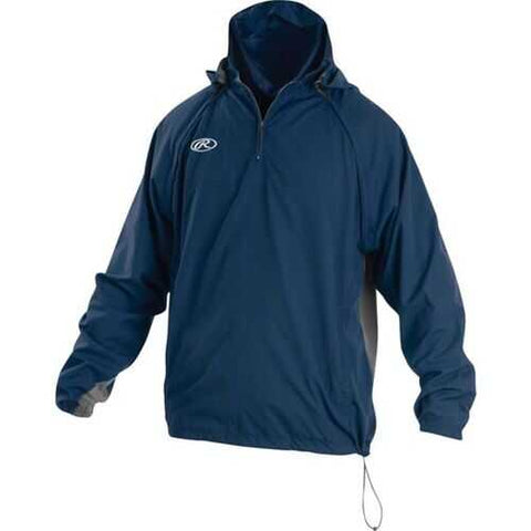 Rawlings Adult Triple Threat Jacket Navy XX-Large