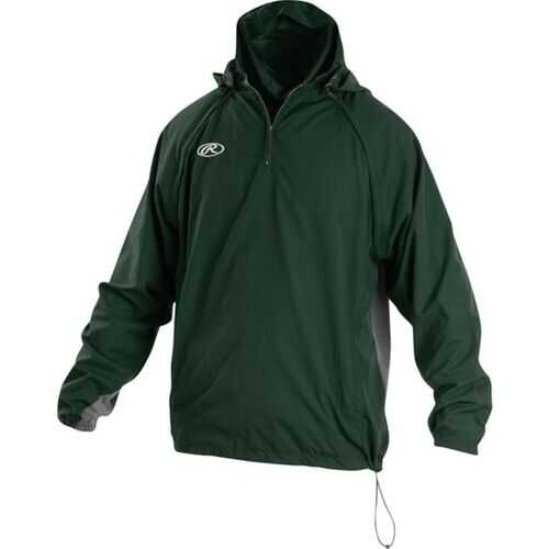 Rawlings Adult Triple Threat Jacket Dark Green Medium