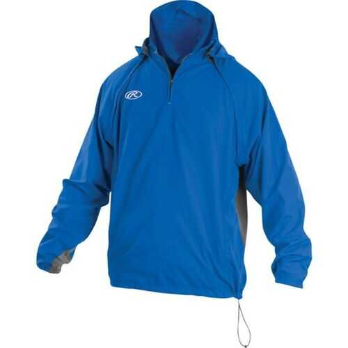 Rawlings Adult Triple Threat Jacket Royal Small