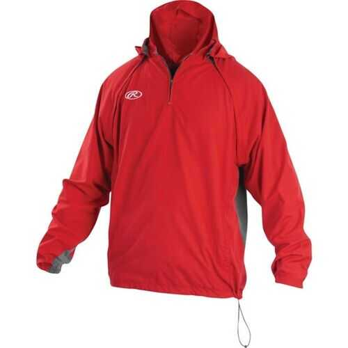 Rawlings Adult Triple Threat Jacket Scarlet Small