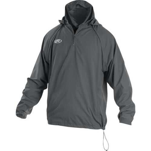 Rawlings Adult Triple Threat Jacket Gray X-Large