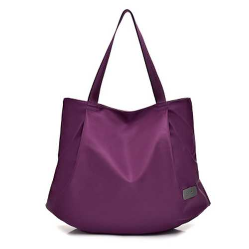 Women Nylon Large Capacity Light Weight Handbag Shoulder Bag