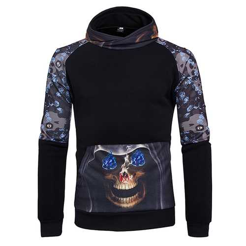Fall Trendy Korean Youth Sweater Digital Printing Hedging Hoodies
