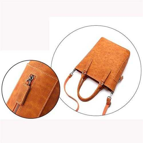 Women Vintage PU Crossbody Bags Handbags