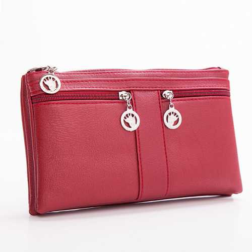 Women Long Purse Leisure Shoulder Bags Multifunction Crossbody Bags